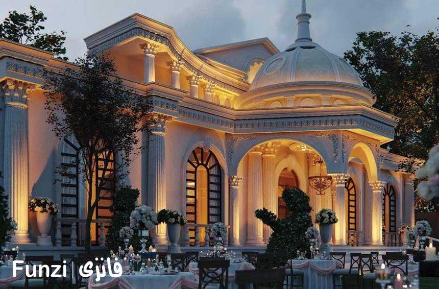 عروسی در باغ ملک تهران