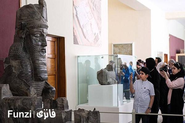 موزه ملی ایران، یکی از جاهای دیدنی تهران