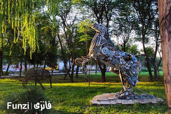 پارک بازیافت | مکان دیدنی در تهران