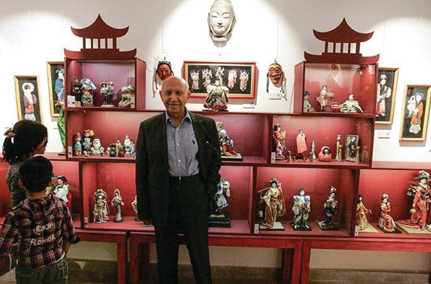 آدرس موزه عروسک های ملل پاسداران