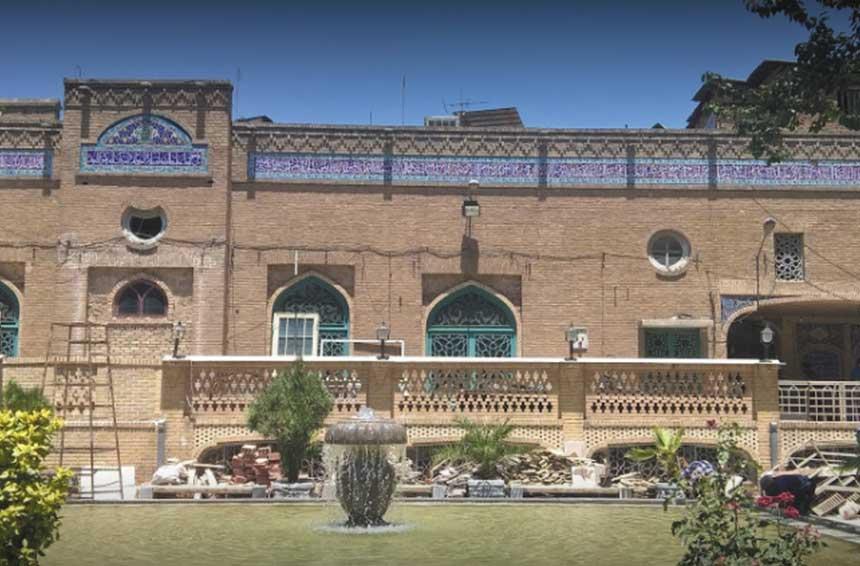 اعتکاف مسجد جامع بازار تهران