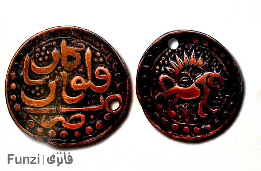 سکه دوران صفویه در موزه سکه تهران