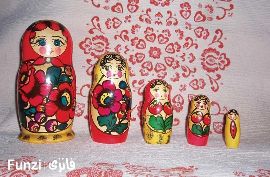 عروسک روسی در موزه عروسک ملل