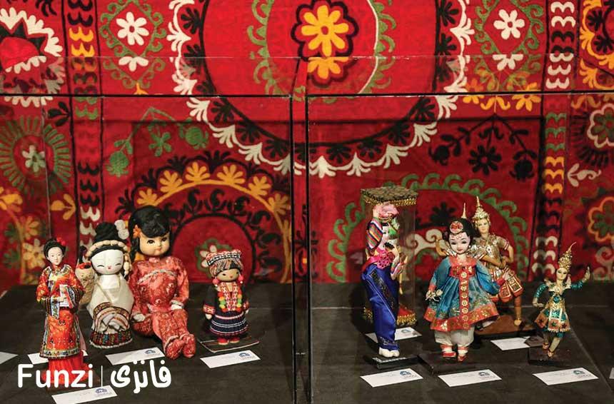 عروسک ژاپنی در خانه عروسک تهران
