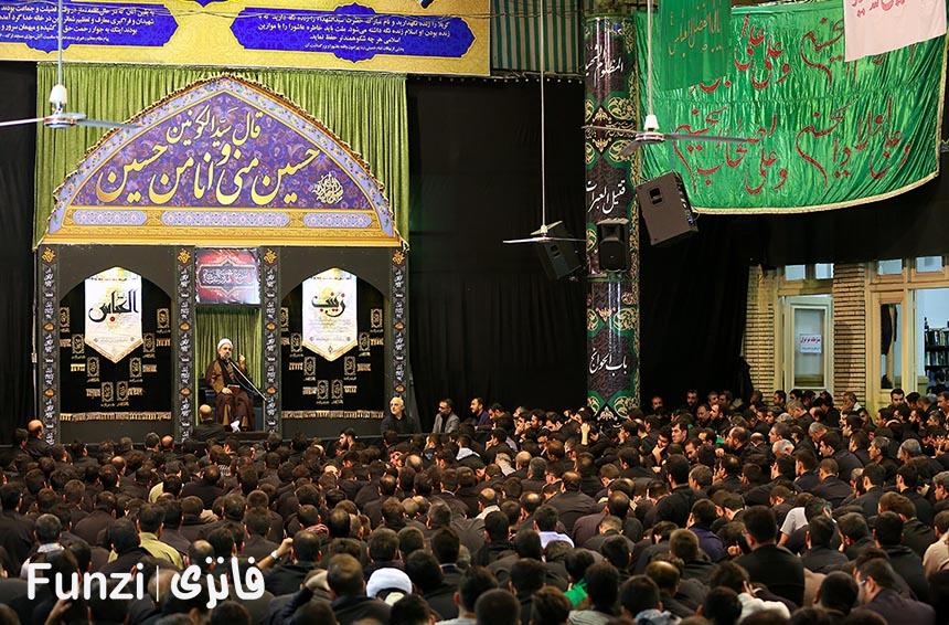 برنامه های مسجد ارک تهران
