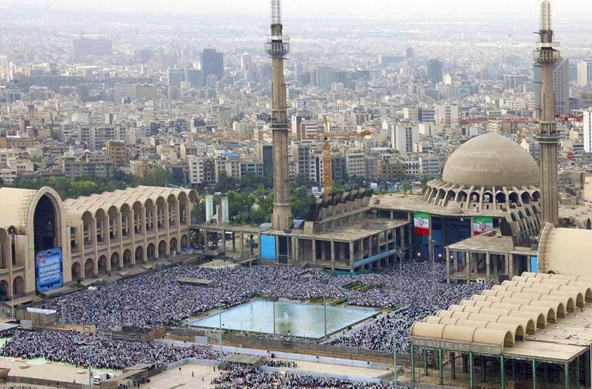 مصلی امام خمینی تهران کجاست