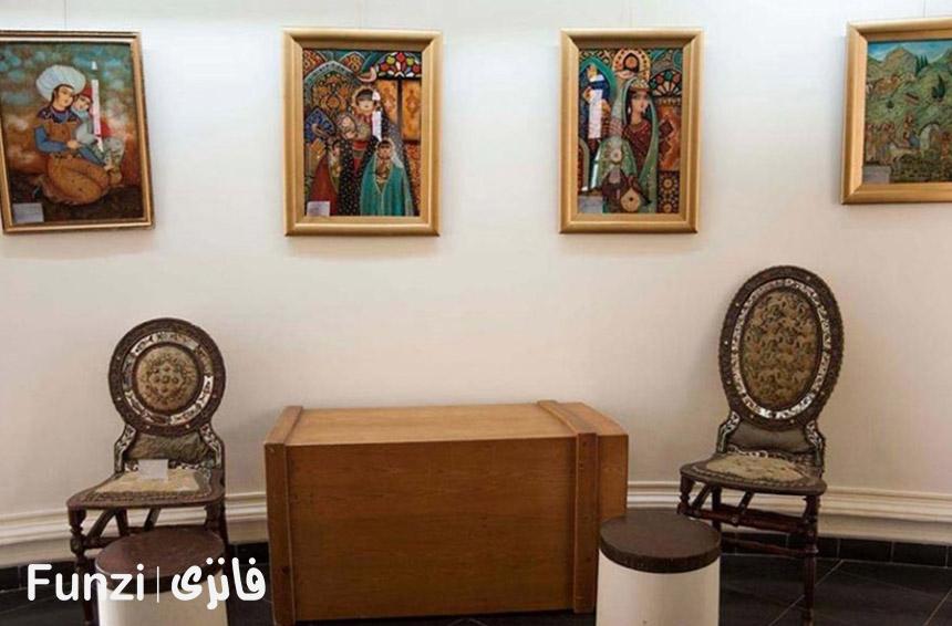 آدرس موزه نقاشی پشت شیشه