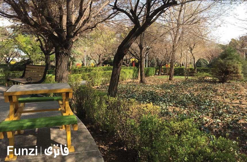 پارک قزل قلعه منطقه 6