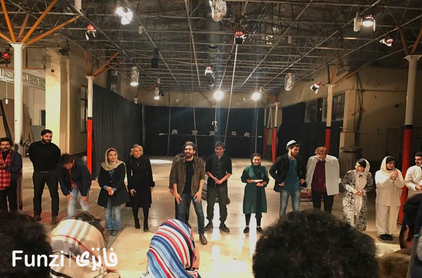 برنامه تئاتر فرهنگسرای بهمن فانزی