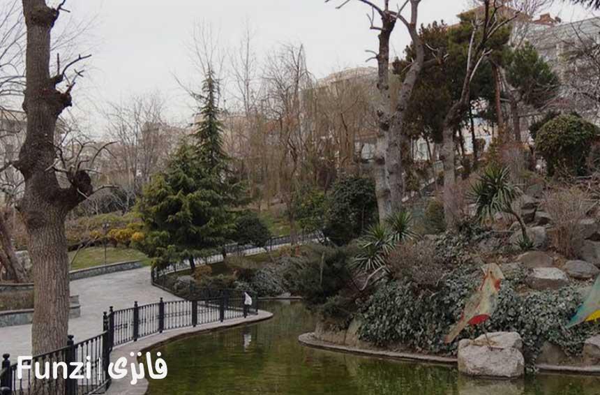 دریاچه پارک ایران زمین کرج funzi