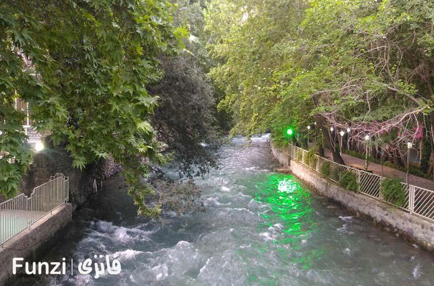 رودخانه کرج پارک چمران فانزی