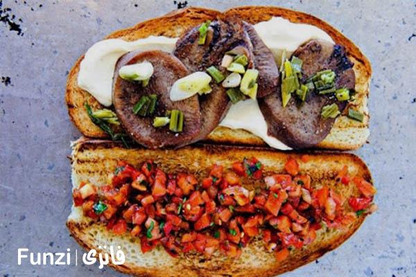 ساندویچ امیر، یک ساندویچ خوشمزه فانزی
