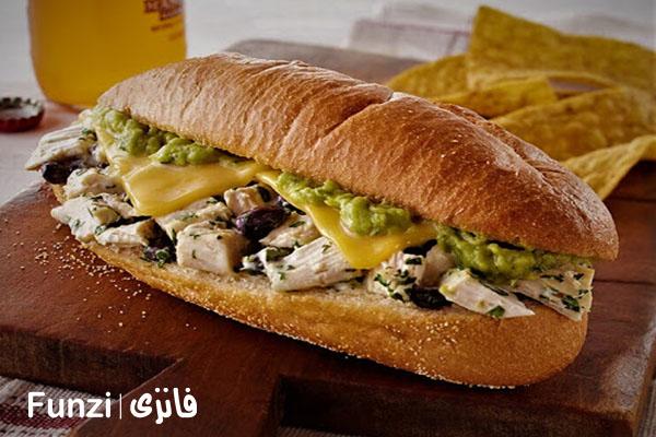 ساندویچ های معروف تهران | ساندویچ خوشمزه فانزی