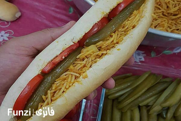 ساندویچ شاپور | ساندویچ خوشمزه funzi
