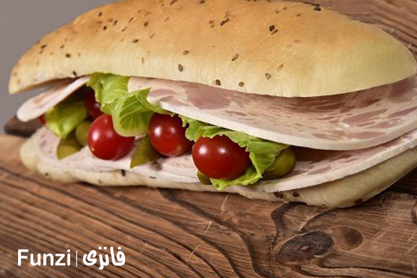 ساندویچ محمود | ساندویچ خوشمزه فانزی