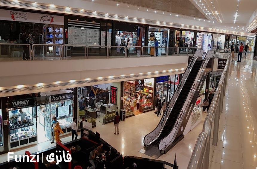 لیست مغازه های مرکز تجاری کیش | فانزی