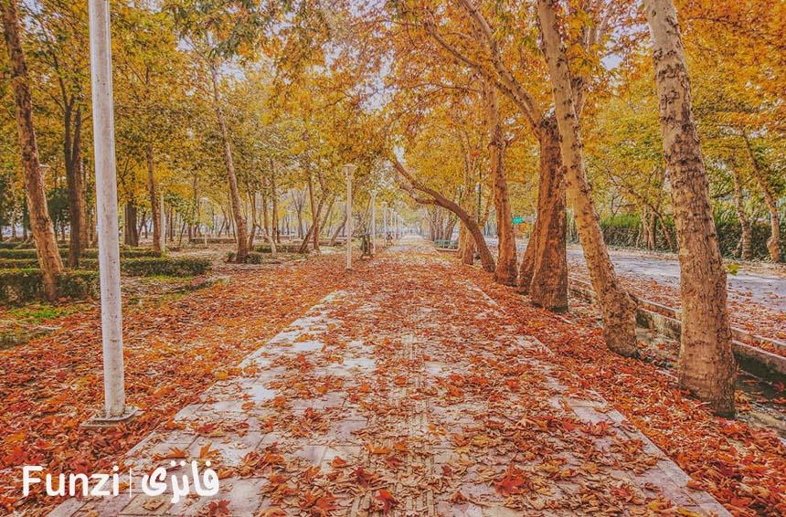 پارک چمران در پاییز فانزی