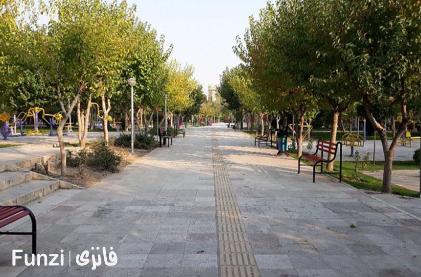 پارک گلبرگ در تهران | فانزی