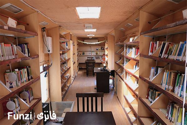 کتابخانه آذر یزدانی منطقه 17 تهران فانزی