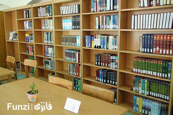 کتابخانه ابیانه منطقه 14 تهران funzi
