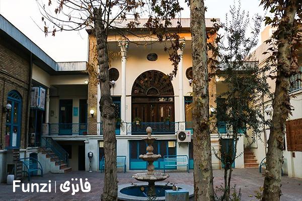 کتابخانه امامزاده یحیی در منطقه 12 تهران فانزی