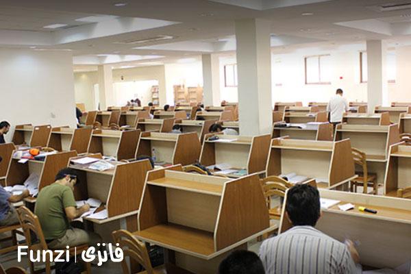 کتابخانه اندیشه منطقه 7 تهران فانزی