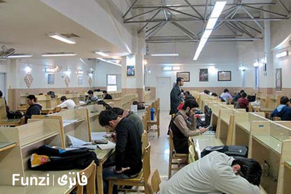کتابخانه تخصصی انقلاب منطقه 11 تهران funzi