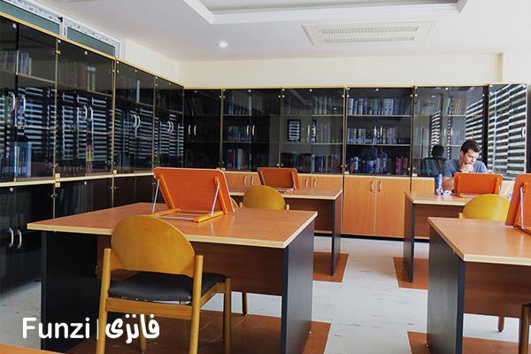 کتابخانه رسالت منطقه 19 تهران فانزی