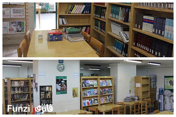 کتابخانه-مشارکتی رعد منطقه 2 تهران فانزی