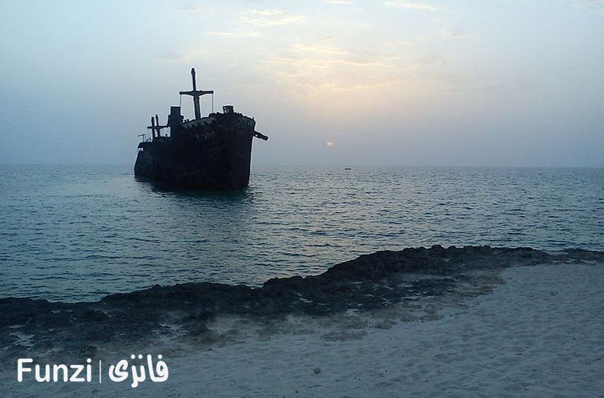 کشتی یونانی جزیره کیش | فانزی