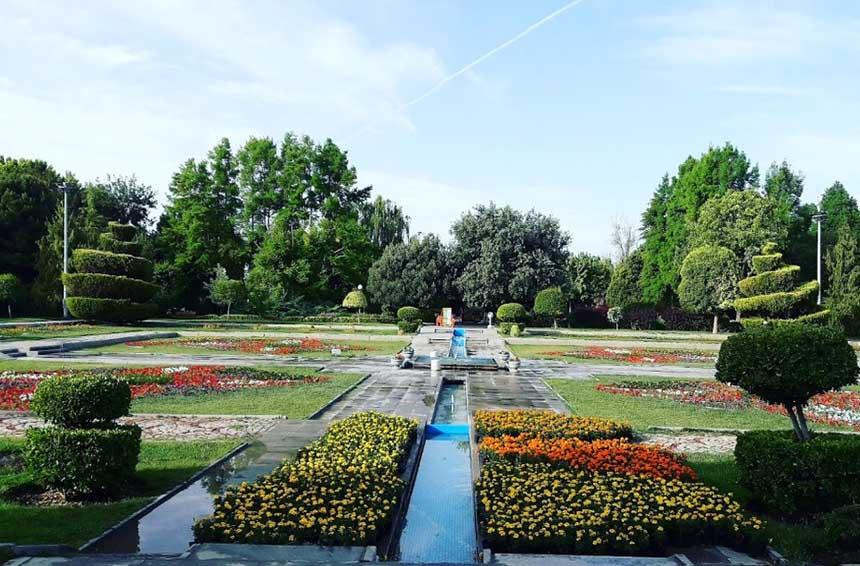باغ گلهای اصفهان فانزی