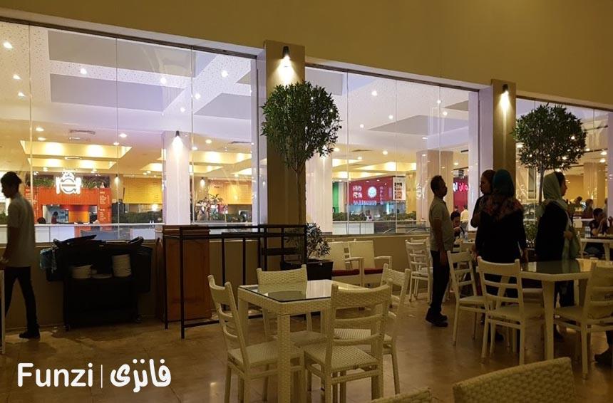 رستوران مرکز خرید دامون funzi