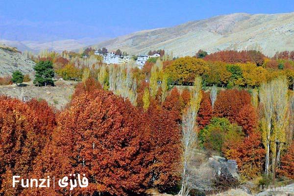 روستای برغان در کرج funzi