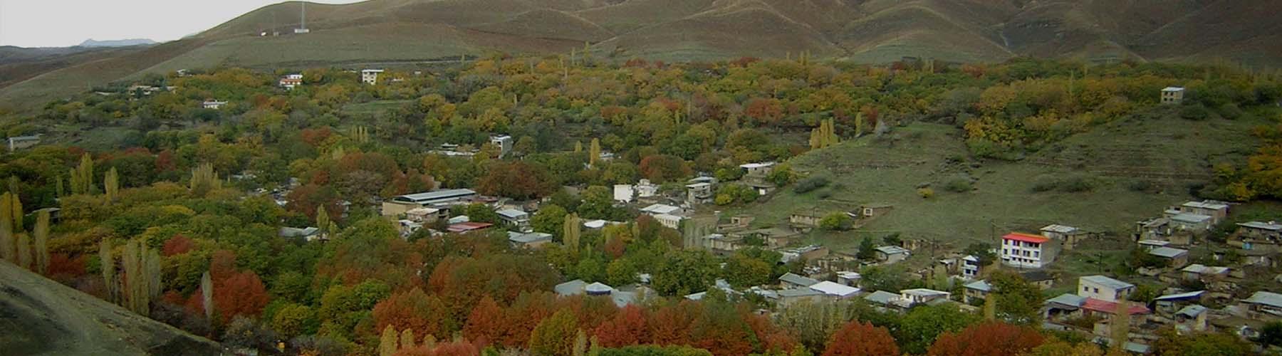 زیبایی های روستای برغان در کرج فانزی