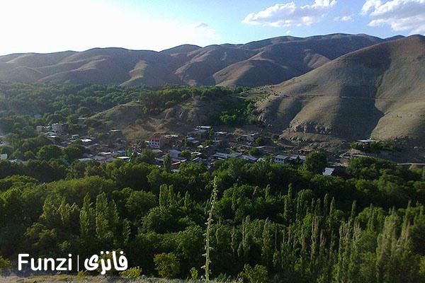 تاریخچه روستای برغان کرج funzi
