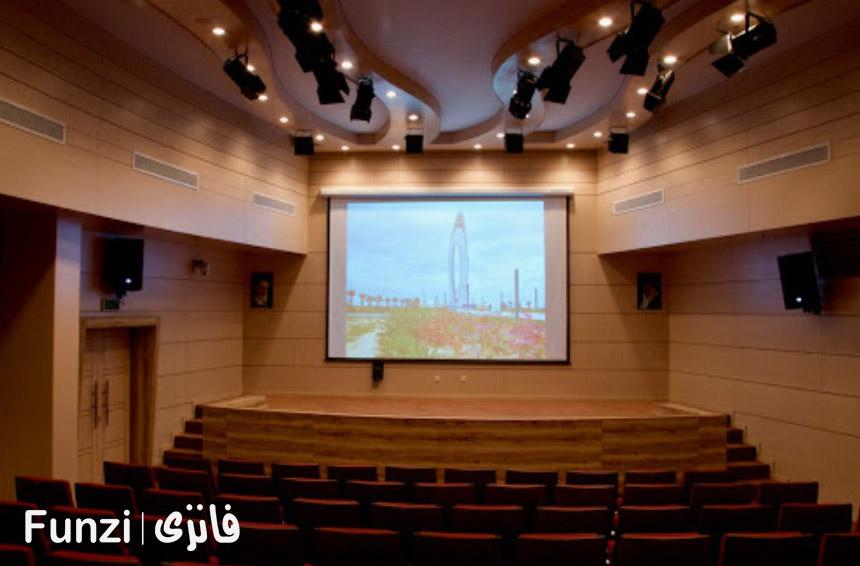 سالن آمفی تئاتر موزه کیش فانزی