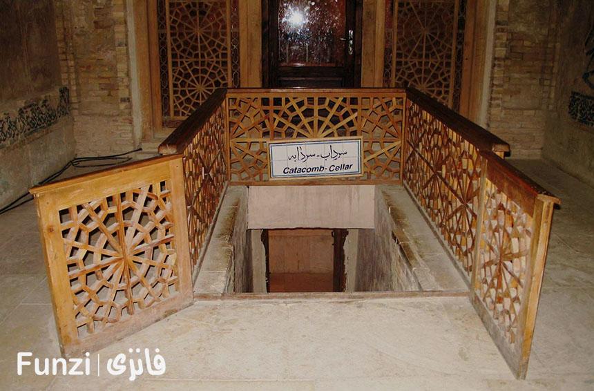 سرداب گنبد سلطانیه فانزی