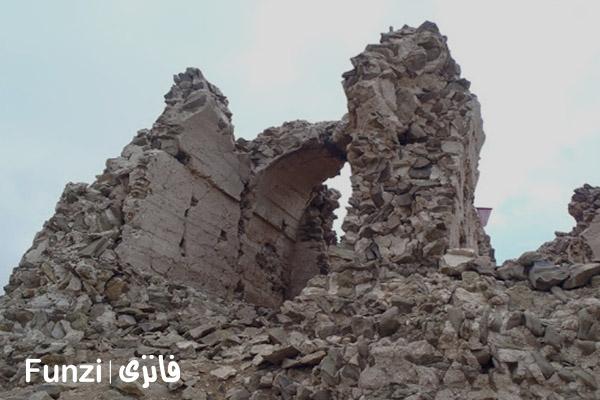 قلعه دزدبند روستای شهرستانک فانزی