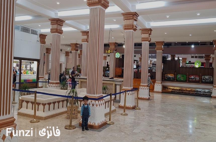 معماری مرکز خرید مروارید کیش فانزی