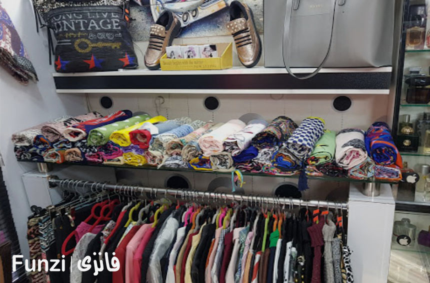 مغازه های بازار پانیذ فانزی