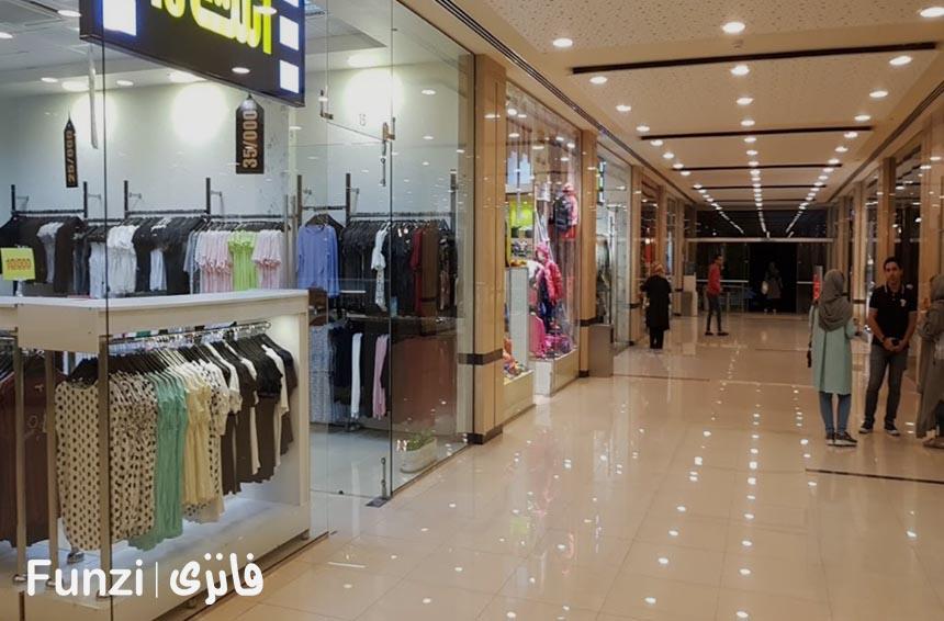 مغازه های مرکز خرید دامون فانزی