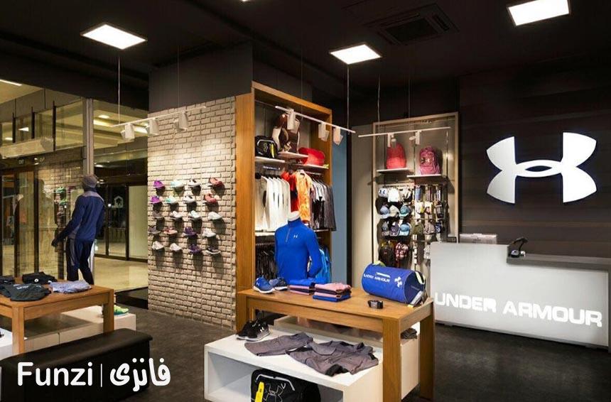 مغازه های مرکز خرید سارینا فانزی