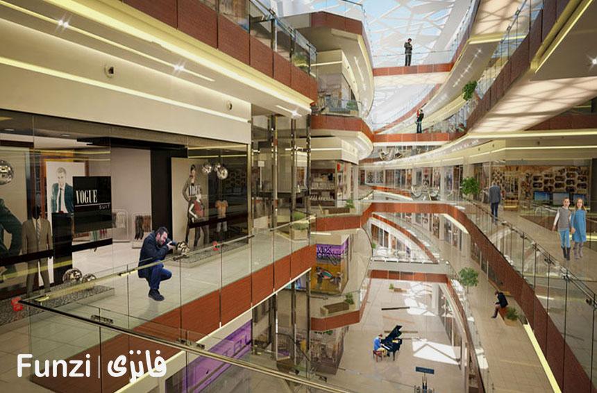 مغازه های میکا مال کیش | funzi