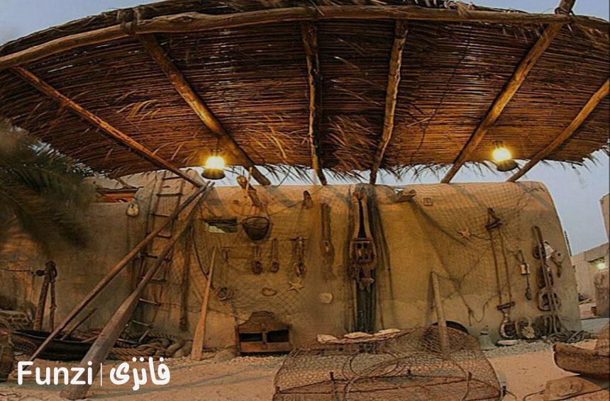 موزه مردم شناسی بومیان کیش | موزه کیش funzi