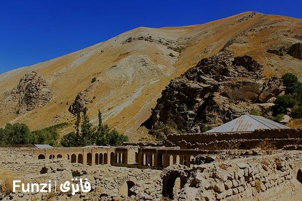 کاخ ناصری در روستای شهرستانک فانزی