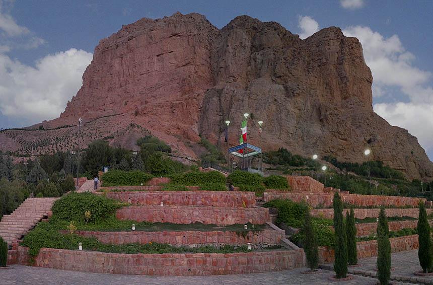 کوه صفه اصفهان فانزی
