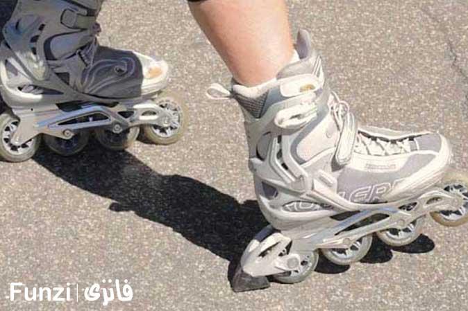 ترمز کفش اسکیت