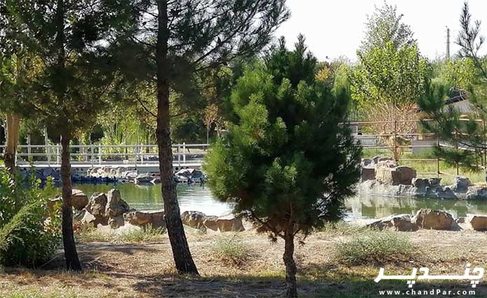 طبیعت زیبای باغ وحش