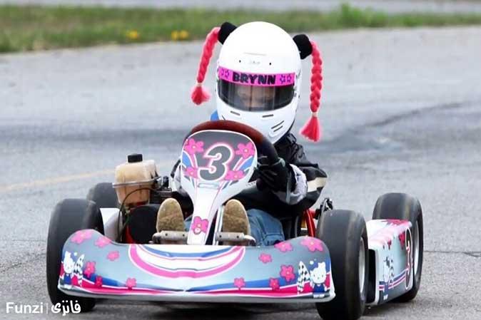 ماشین کارتینگ کودک