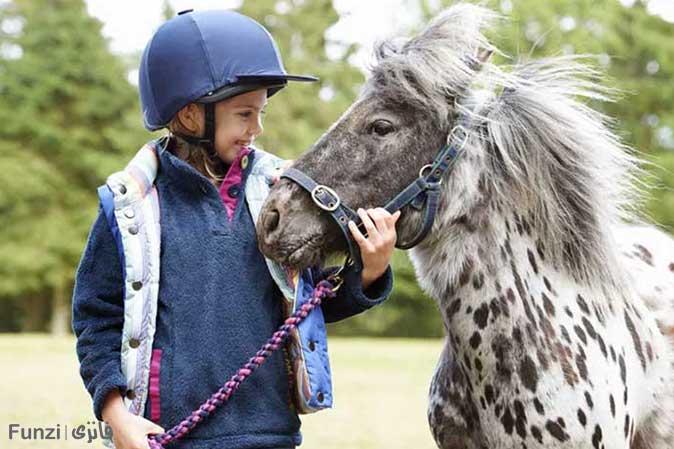 اسب پونی و کودکان